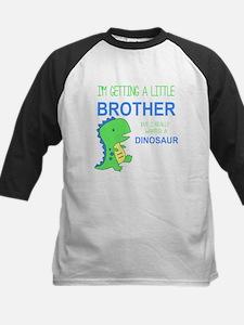 Really Wanted a Dinosaur Baseball Jersey
