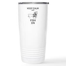 FISHING - KEEP CALM AND Travel Mug