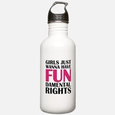Girls Just Wanna Have Fun Water Bottle