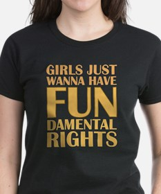 Girls Just Wanna Have Fun Tee
