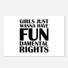 Girls Just Wanna Have Fun Postcards (Package of 8)