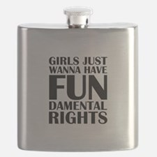 Girls Just Wanna Have Fun Flask