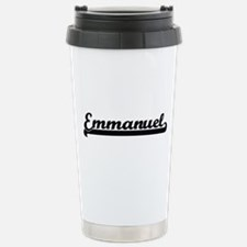 Emmanuel Classic Retro Travel Mug