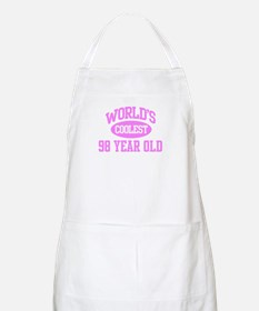 Coolest 98 Year Old BBQ Apron
