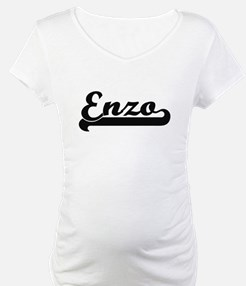 Enzo Classic Retro Name Design Shirt