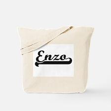 Enzo Classic Retro Name Design Tote Bag