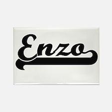 Enzo Classic Retro Name Design Magnets