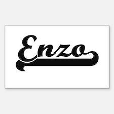 Enzo Classic Retro Name Design Decal