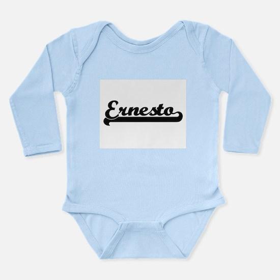 Ernesto Classic Retro Name Design Body Suit