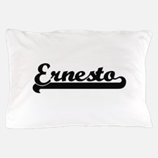 Ernesto Classic Retro Name Design Pillow Case