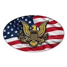 Great seal of the USA with American Decal