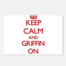 Keep Calm and Griffin ON Postcards (Package of 8)