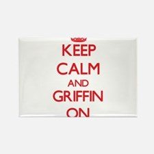 Keep Calm and Griffin ON Magnets