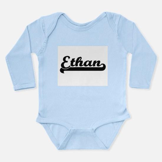 Ethan Classic Retro Name Design Body Suit