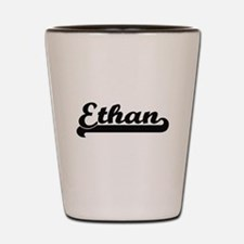 Ethan Classic Retro Name Design Shot Glass