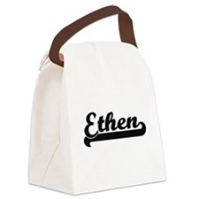 Ethen Classic Retro Name Design Canvas Lunch Bag