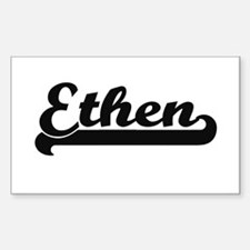 Ethen Classic Retro Name Design Decal