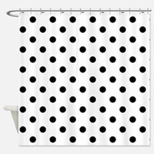 Girls just wanna have dots Shower Curtain