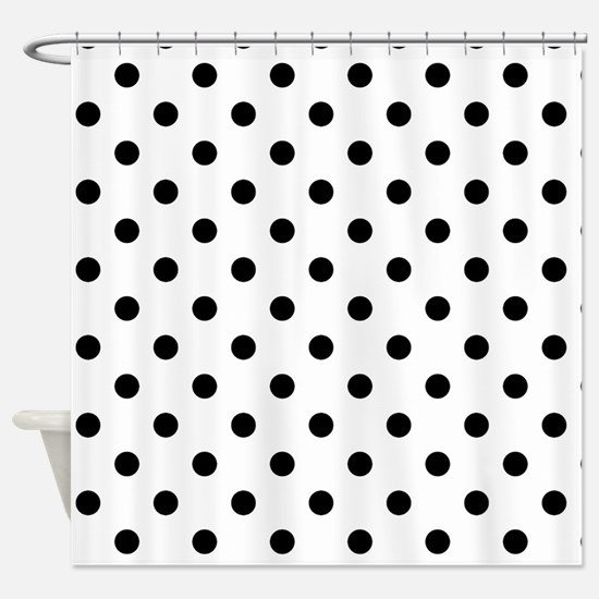 Girls just wanna have dots Shower Curtain