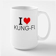 I Love Kung Fu Mugs