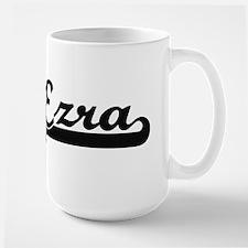 Ezra Classic Retro Name Design Mugs