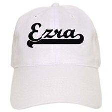 Ezra Classic Retro Name Design Baseball Cap