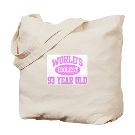 Coolest 93 Year Old Tote Bag