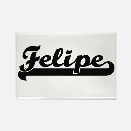 Felipe Classic Retro Name Design Magnets