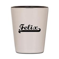 Felix Classic Retro Name Design Shot Glass