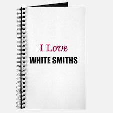 I Love WHITE SMITHS Journal