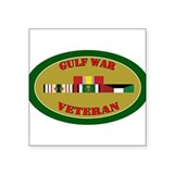Retired army gulf war veteran Square