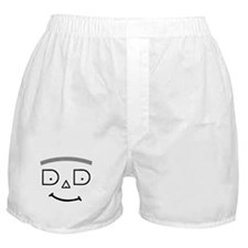 DAD WITH HAIR Boxer Shorts