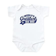 World's Greatest Big Bro Infant Bodysuit