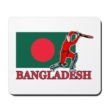 Bangali Cricket Player Mousepad