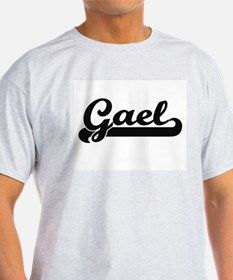 Gael Classic Retro Name Design T-Shirt