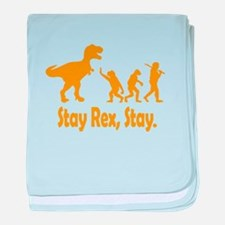 Stay Rex Stay baby blanket