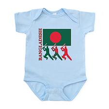 Cricket Bangladesh Infant Bodysuit