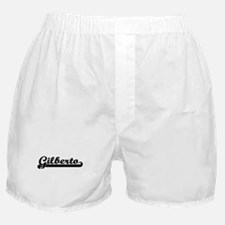 Gilberto Classic Retro Name Design Boxer Shorts