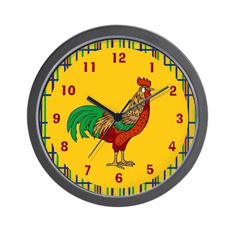 Rooster Wall Clock
