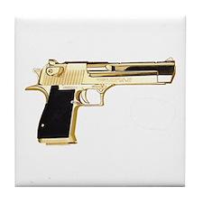 Gold Eagle Tile Coaster