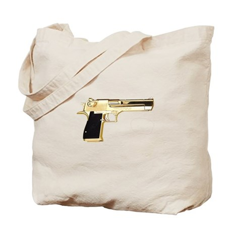 Gold Eagle Tote Bag