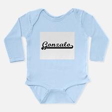 Gonzalo Classic Retro Name Design Body Suit