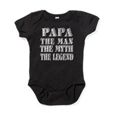 Papa The Man the myth the legend Baby Bodysuit