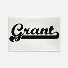 Grant Classic Retro Name Design Magnets