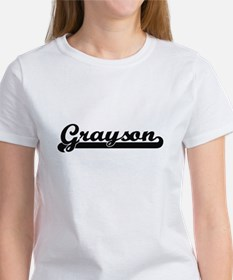 Grayson Classic Retro Name Design T-Shirt