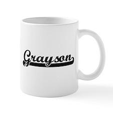 Grayson Classic Retro Name Design Mugs