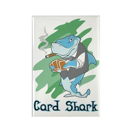 Card Shark Rectangle Magnet (10 pack)