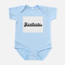 Heriberto Classic Retro Name Design Body Suit