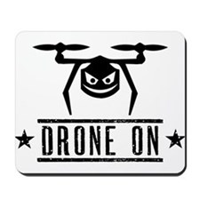 Drone On Mousepad