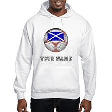 Scotland Soccer Ball (Custom) Hoodie